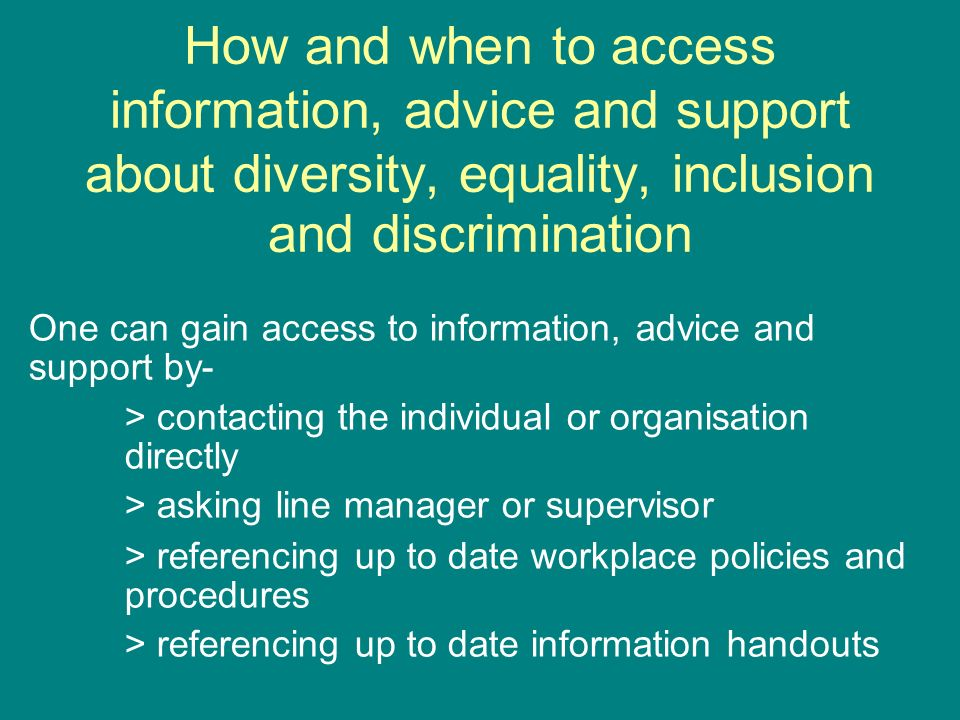 equality diversity and inclusion 2 essay Teaching equality and diversity in the classroom  diversity is about  recognising and respecting these differences to create an all-inclusive  atmosphere  you could even assign the task of writing the quiz to 2 students  each.