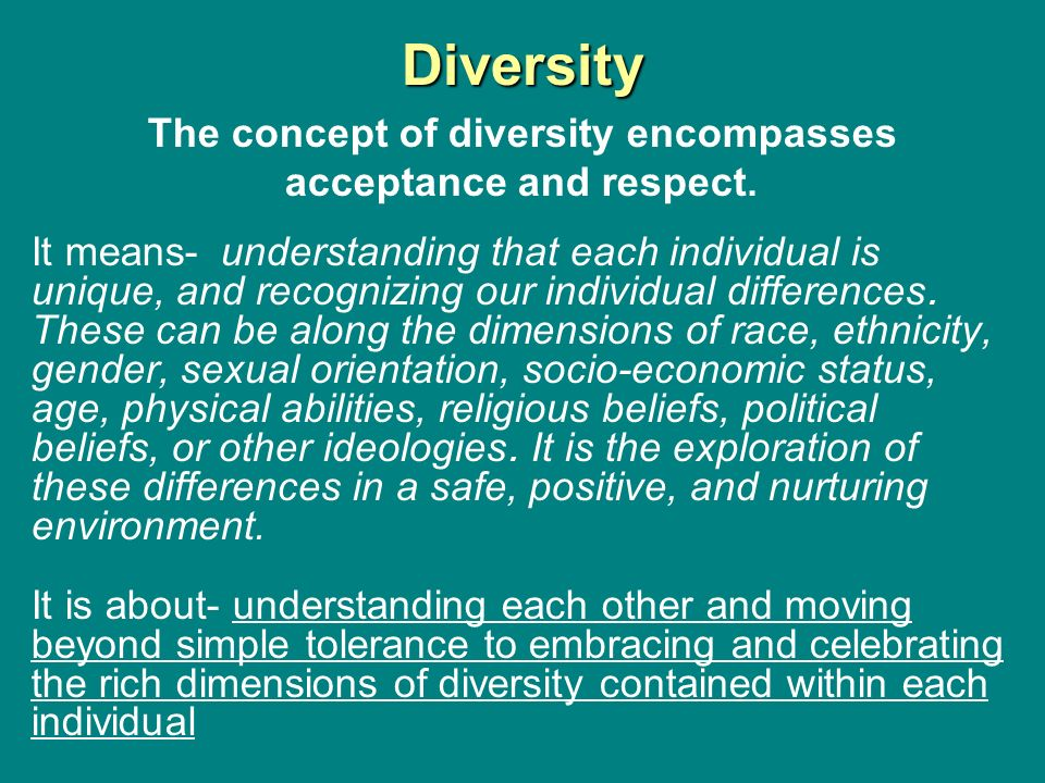 understand the importance of diversity equality Sample 3 equality diersity and inclusion learning outcomes understand the importance of equality, diversity and inclusion know how to work in an inclusive way.
