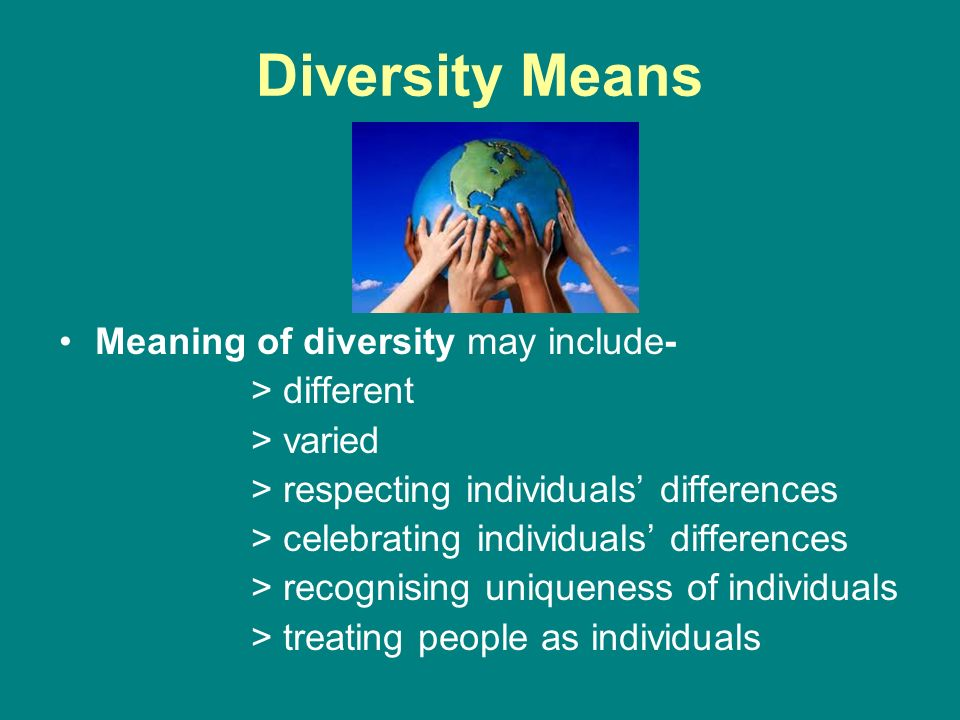 meaning of diversity equality inclusion and Inclusion diversity and inclusion involve list three that relate to diversity, equality, inclusion and discrimination 1 the unit shc 023, introduction.
