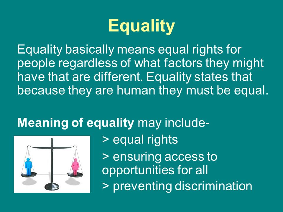 equal opportunities and preventing discrimination Affirmative action & equal opportunity exists to promote diversity and prevent discrimination.