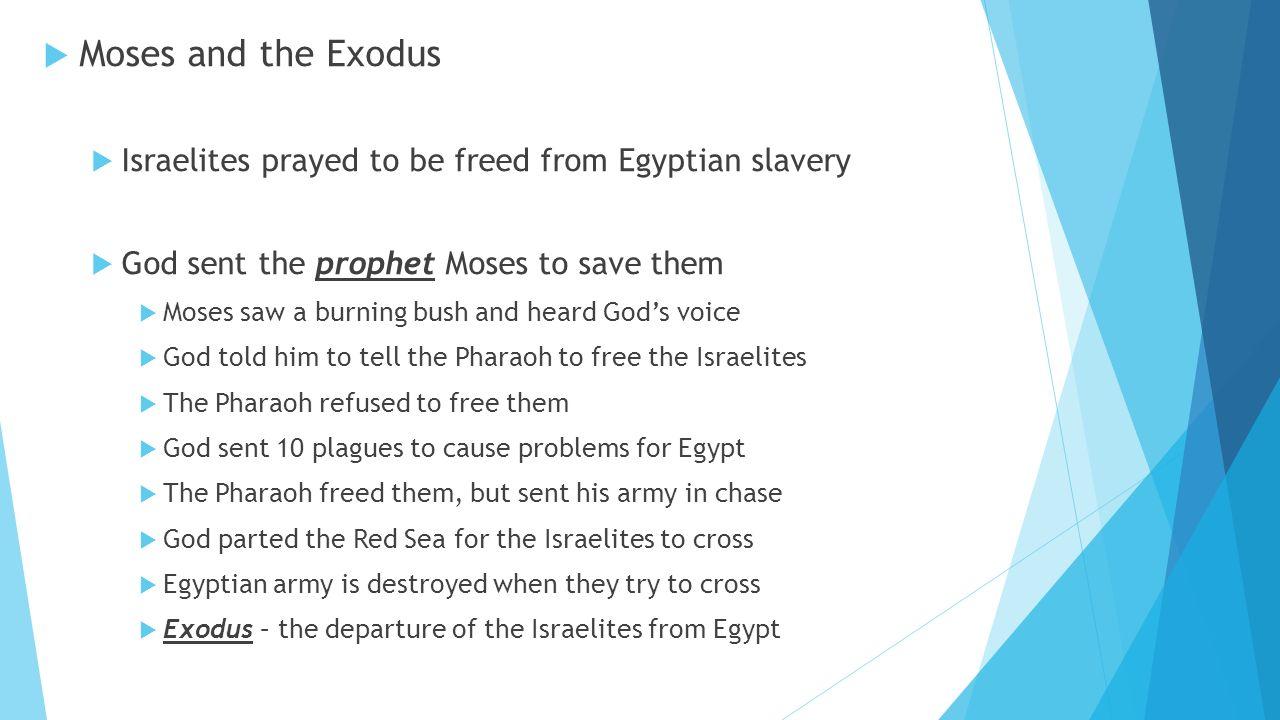 chapter 6 the israelites lesson 1 beginnings bell ringer whether