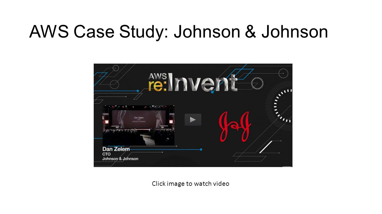 case study johnson johnson s enterprise architecture Johnson professionals, inc  johnson professional's mission is to offer clients specialized service to match specialized needs  as an enterprise.