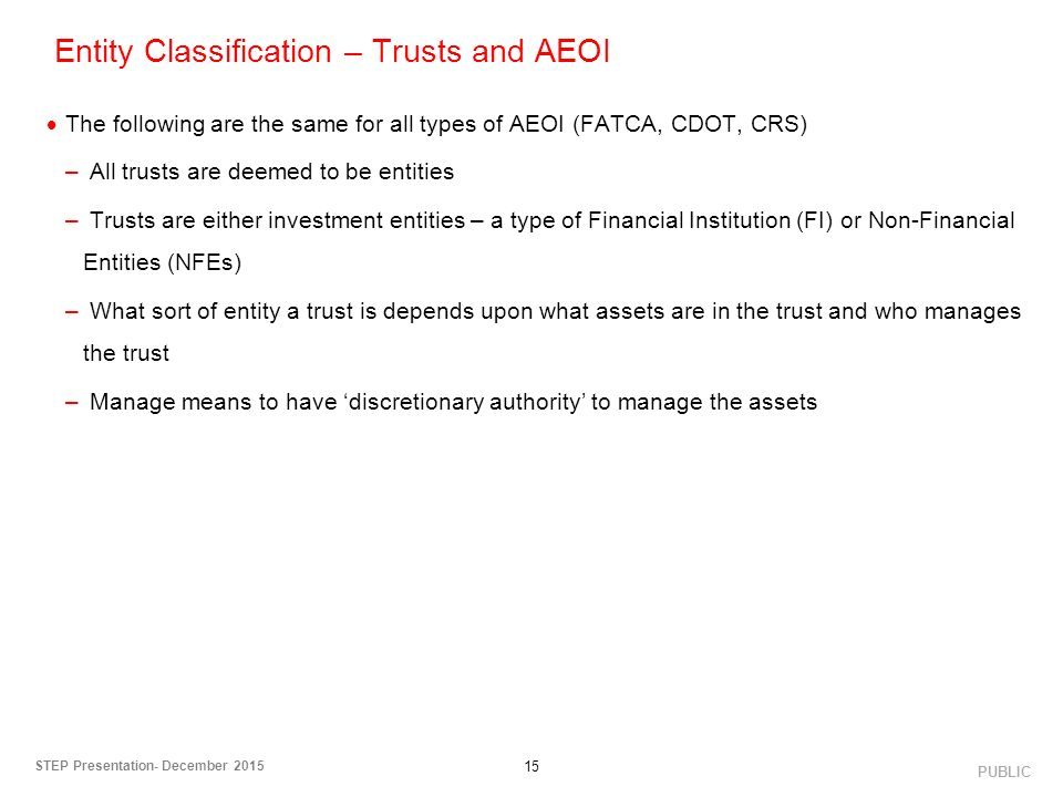 classification and types of financial institutions Classification and provisioning so that financial institutions would set aside   there were the amendments to types of collateral the values of.