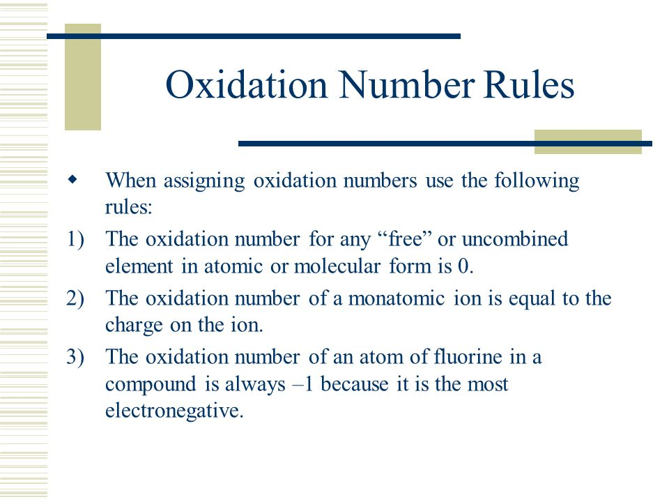 how to find oxidation number of any compound