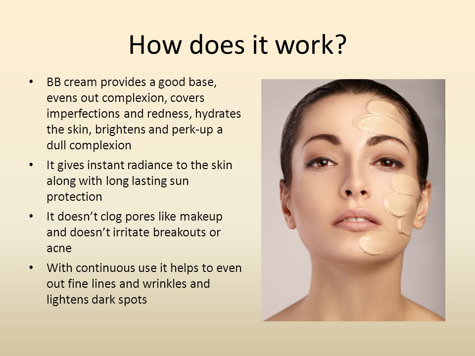 What is BB Cream BB stands for Beauty Balm or Beauty ...