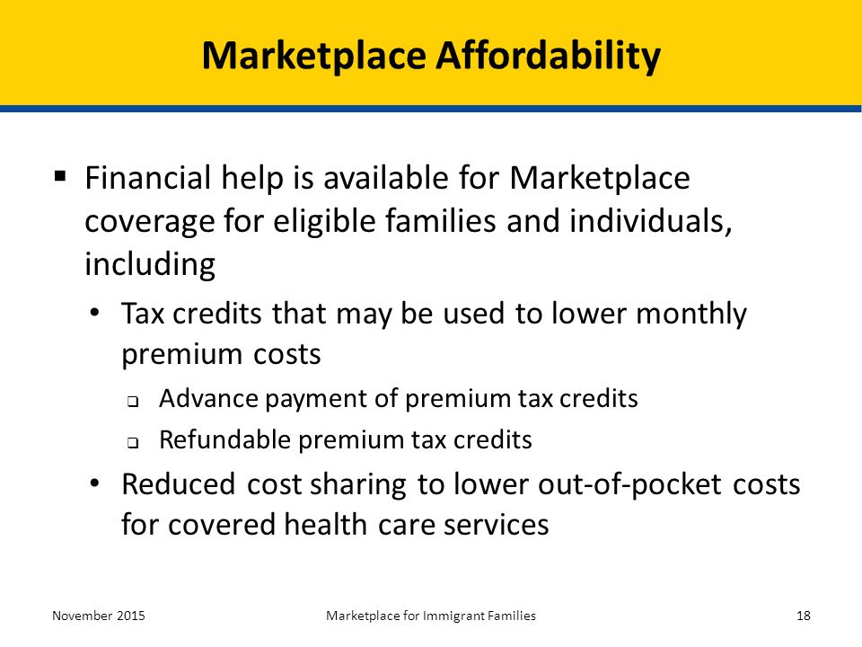 Health Insurance Marketplaces - ppt download