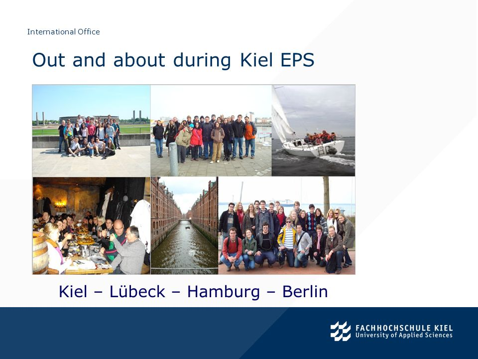 Out and about during Kiel EPS