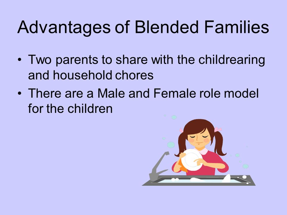 Advantages of Blended Families
