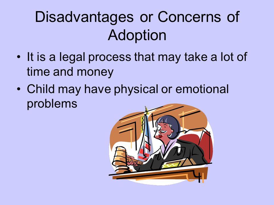 Disadvantages or Concerns of Adoption