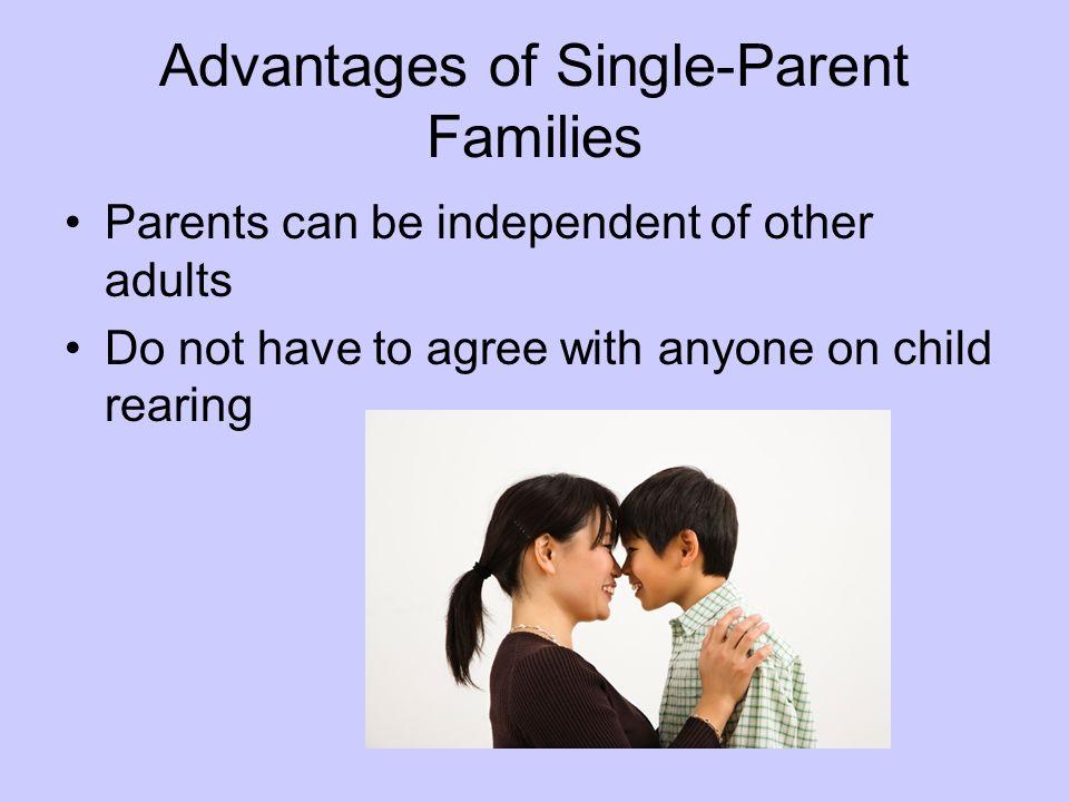 Advantages of Single-Parent Families