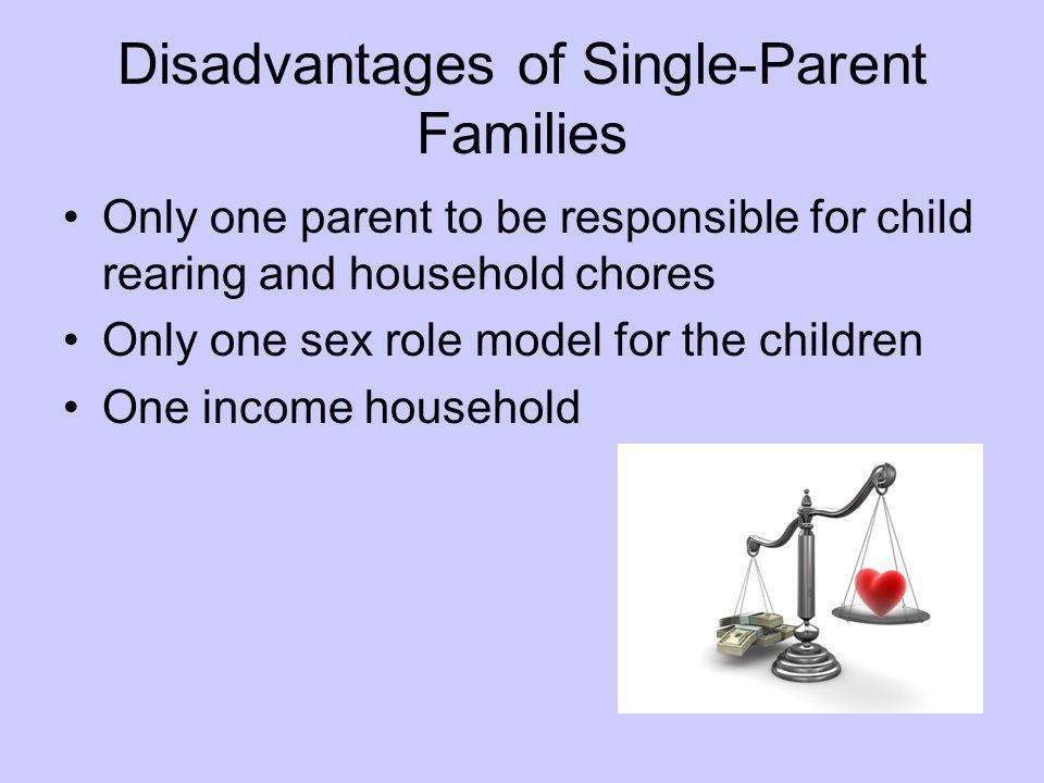 Disadvantages of Single-Parent Families