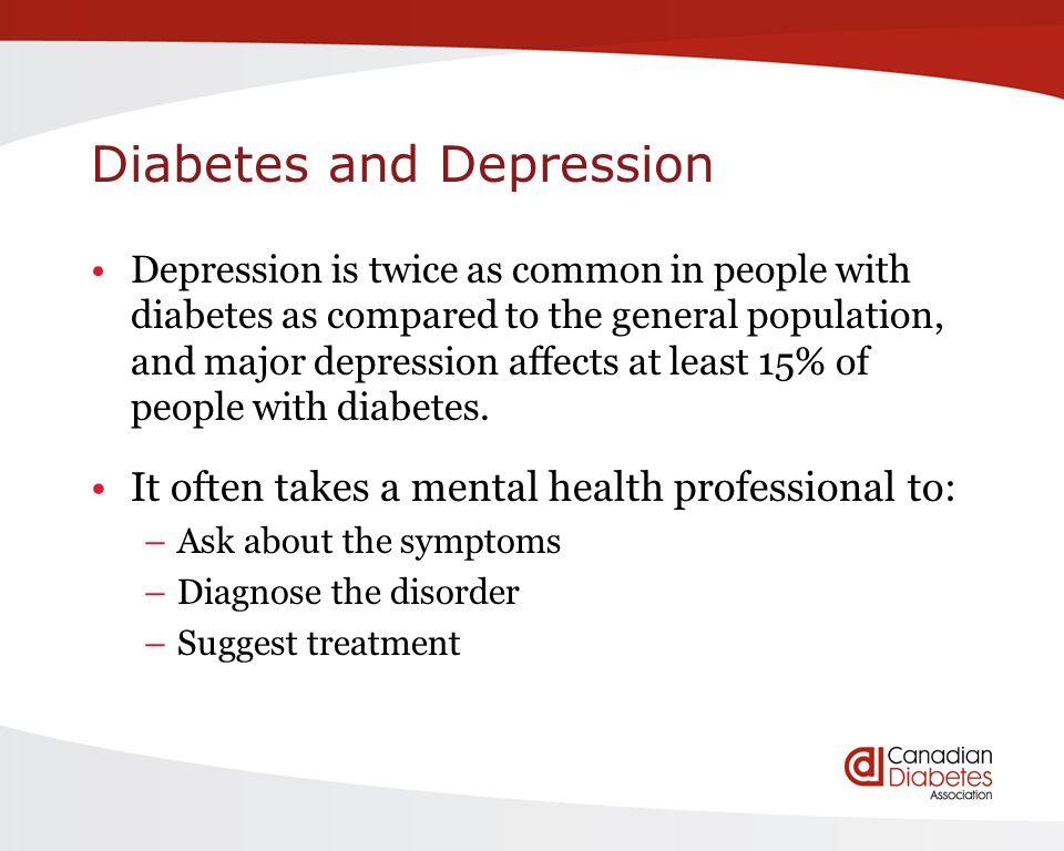 diabetes and mental health pdf
