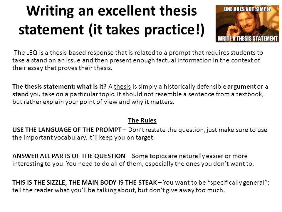 why is qualification of a thesis important Why a good thesis statement is important writing a good thesis statement on your paper is one of the most important things that you can do, if it is a good grade that you are after most students do want to score well on their paper, and with the thesis statement you are halfway there  the importance of the thesis statement.