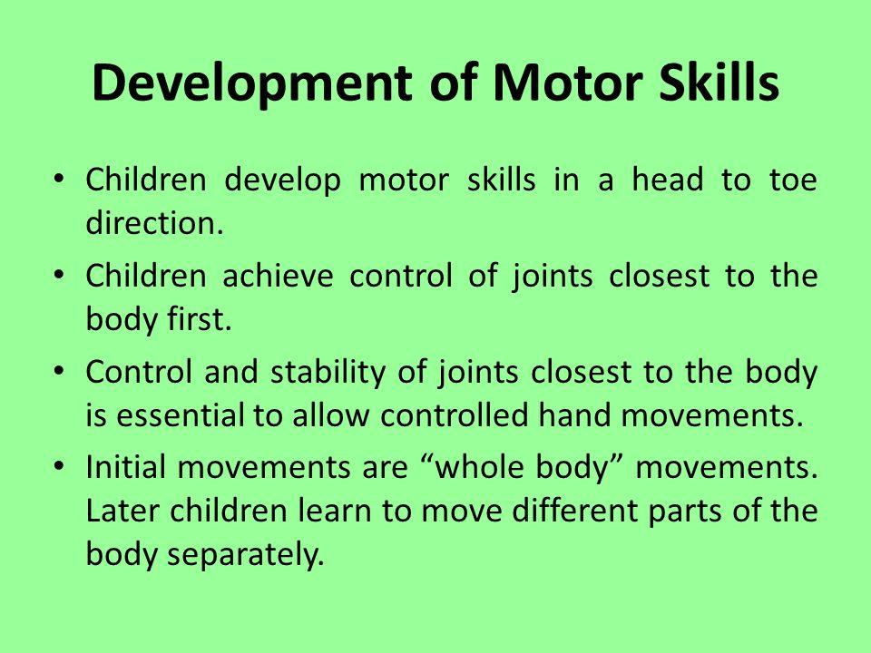 Fine motor skills and handwriting ppt video online download for Development of motor skills