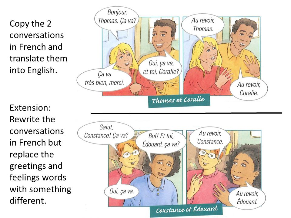 Walt greet someone in different ways in french ask how they are 4 copy m4hsunfo Image collections
