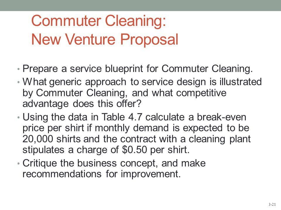 case commuter cleaning new venture proposal Gov phil murphy's economic vision for new jersey includes growth of an innovative, technology-driven sector, and he has proposed a $500 million state-led venture capital fund as a key to.