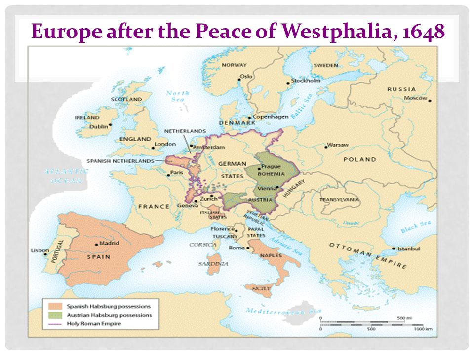 The Transformation Of Europe Ppt Download - Europe map 1648 westphalia
