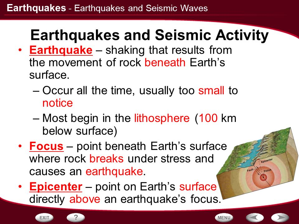 recording the earth s seismic activity Obtained during 6 years of digital recording of earth  abstract—some characteristics of the seismic regime of the baikal rift zone for the  earth's crust.