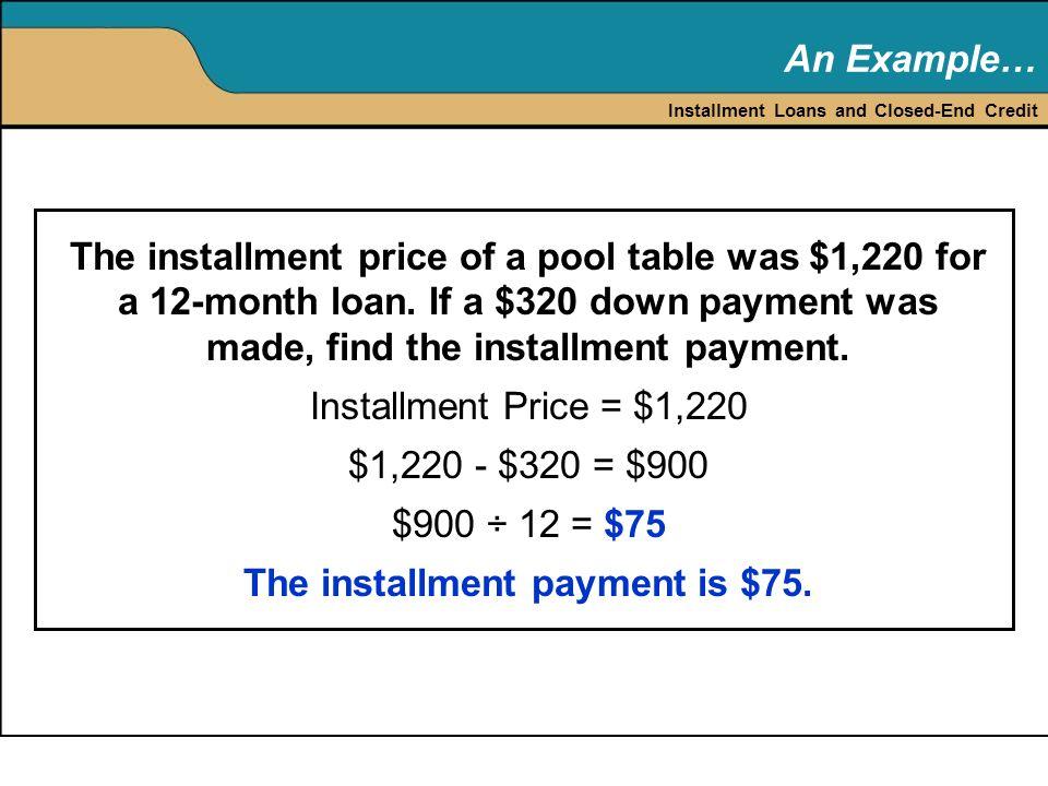 $900 Installment Loans