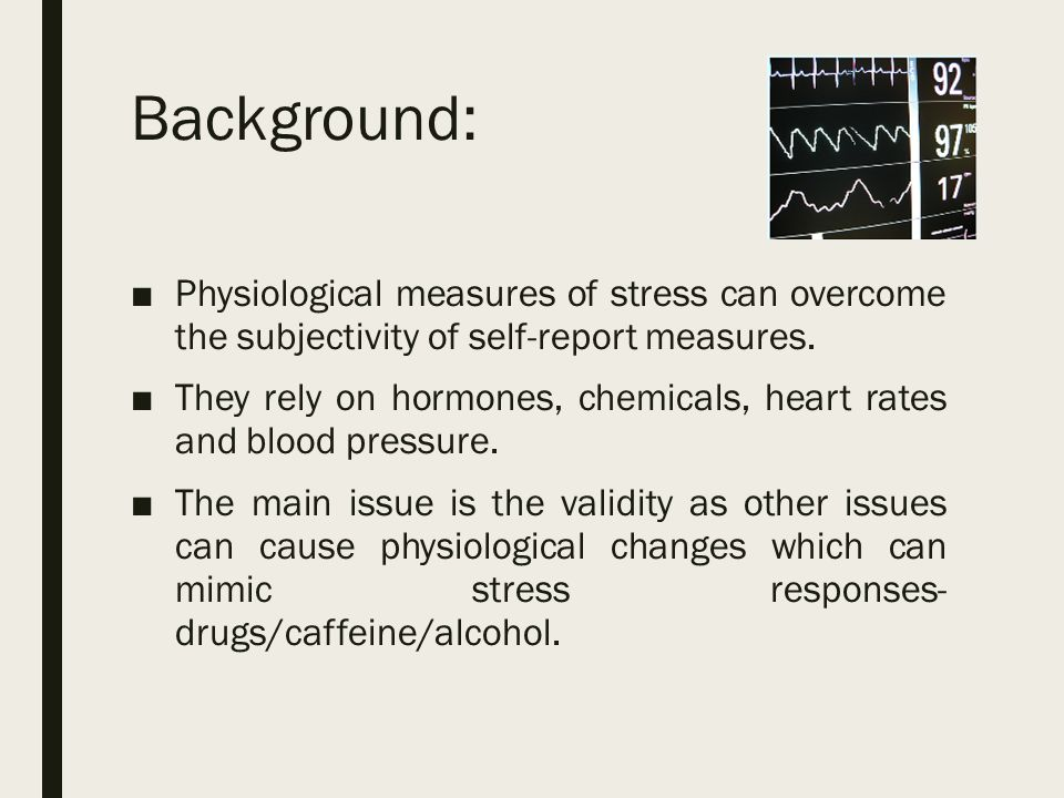 physiological measurements When beginning an exercise program, we might elect to perform some assessments so we can track progress and motivate our clients this blog will be part of a four-blog series breaking down the different types of physiological assessments you could perform, and what advantages or disadvantages there.
