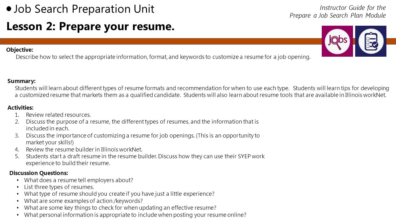 job search organizer s m a r t  plan employment 101