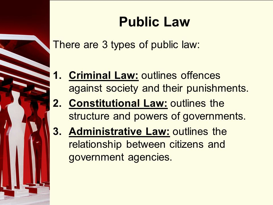 constitutional relationship between law politics state administration