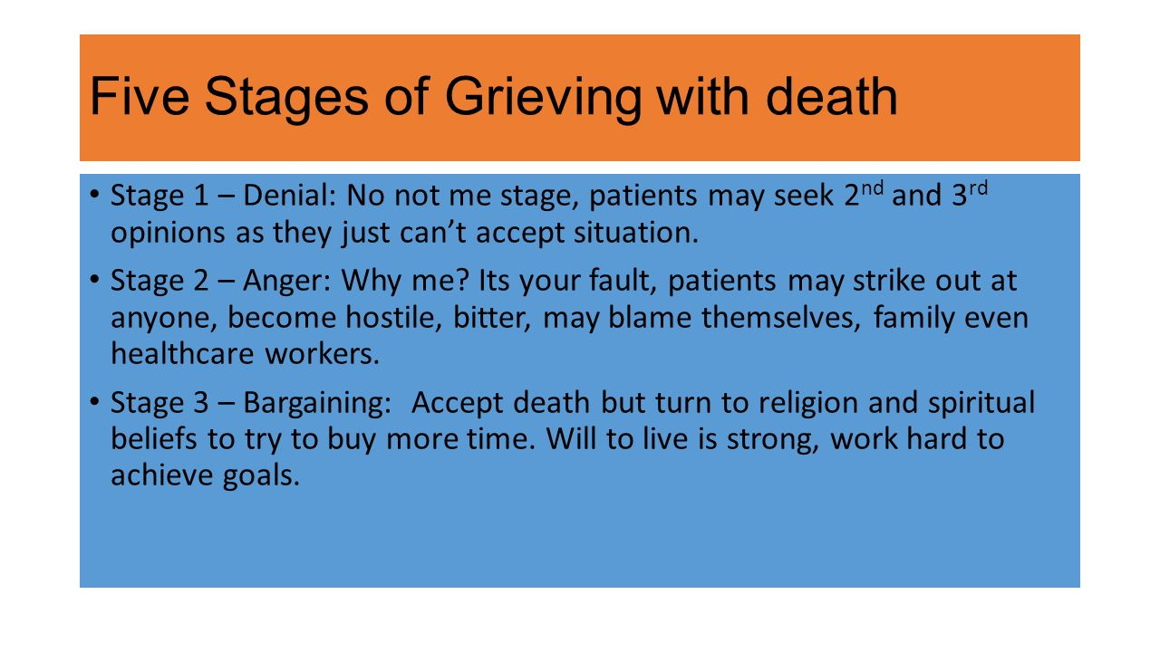 stages of death and dying pdf