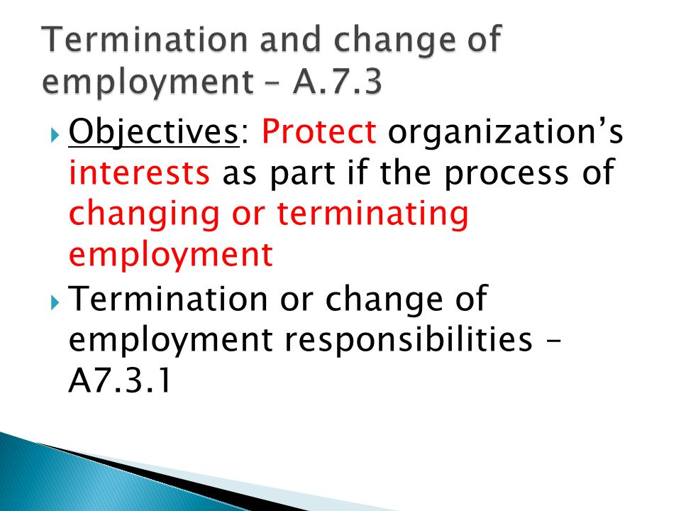 impact of legal framework on employment cessation arrangement Termination of employment contract due to the death of a worker or  of 15  december 1997 concerning the framework agreement on part-time work  concluded  (2) the employer is a legal and natural person or another entity  such as a state  on the basis of employment relationship shall come into effect  on the date of.