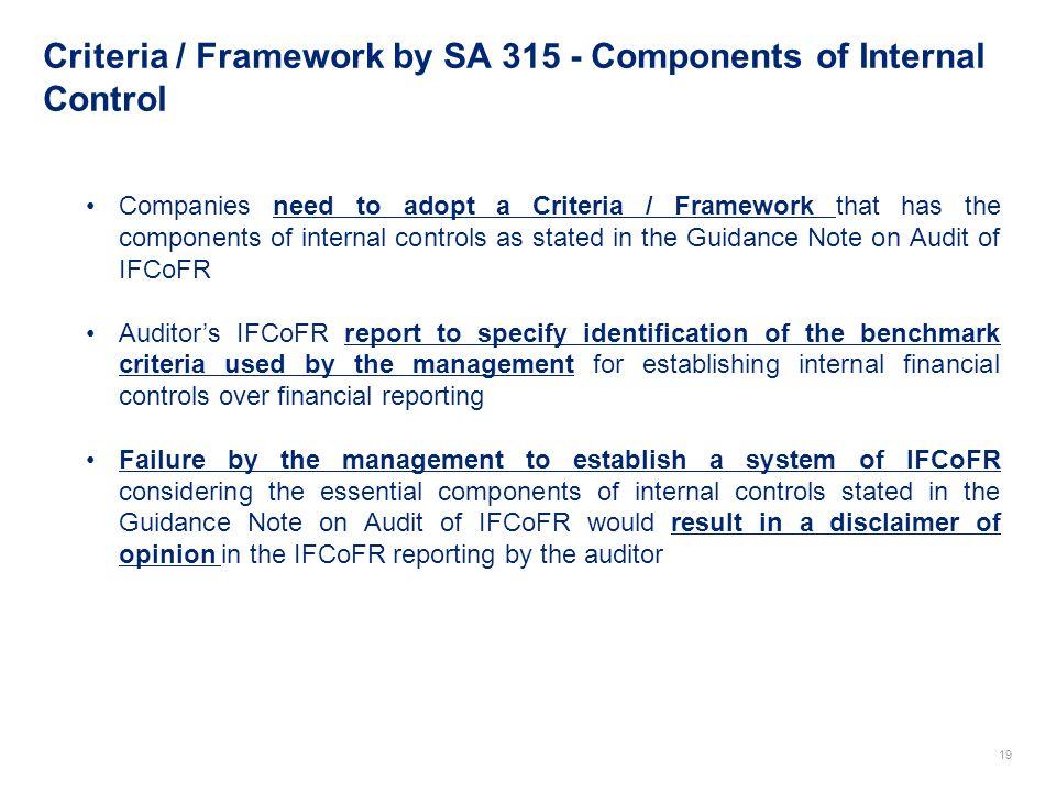 criteria of control framework pdf