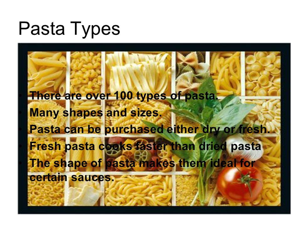 types of pasta sauce pdf