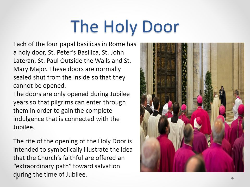 The Holy Door