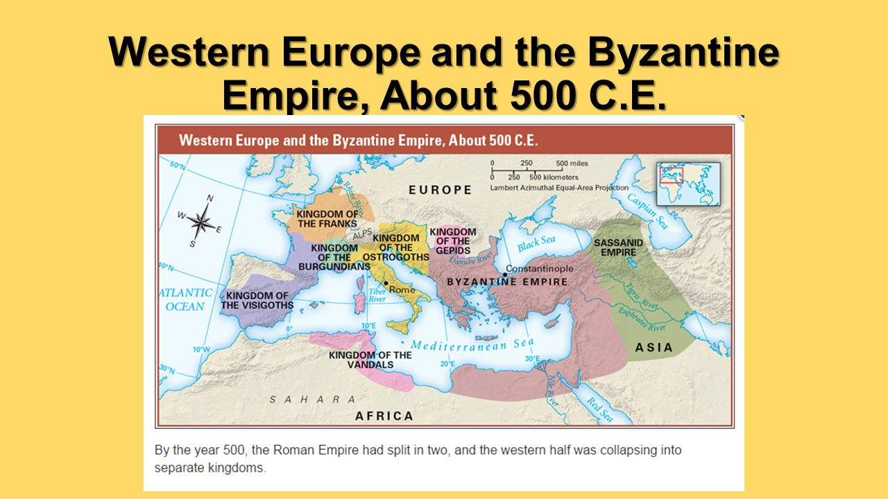 byzantine vs western europe