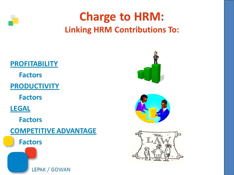 The Strategic Contributions of the Human Resource Function