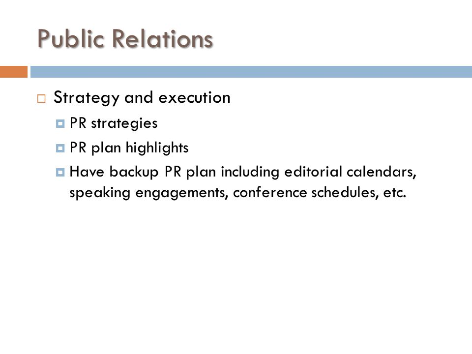 public relations strategy and theory In public relations, people talk about positioning an idea, a persona, a political  ideal, an ideology – but what are they talking about why do some positions.