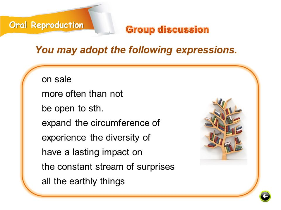 You may adopt the following expressions.