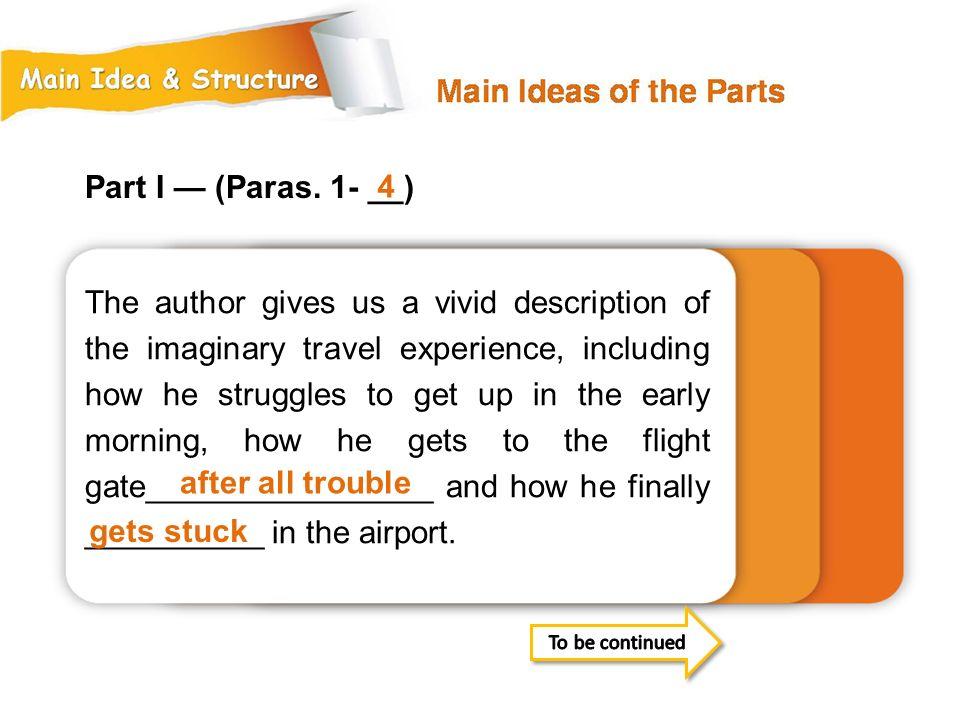 Part I — (Paras. 1- __) 4.
