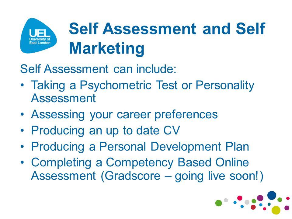 9 Self Assessment ...  Personality Development Plan