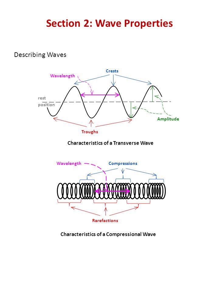 Worksheet Wave Propertieath – Wave Characteristics Worksheet