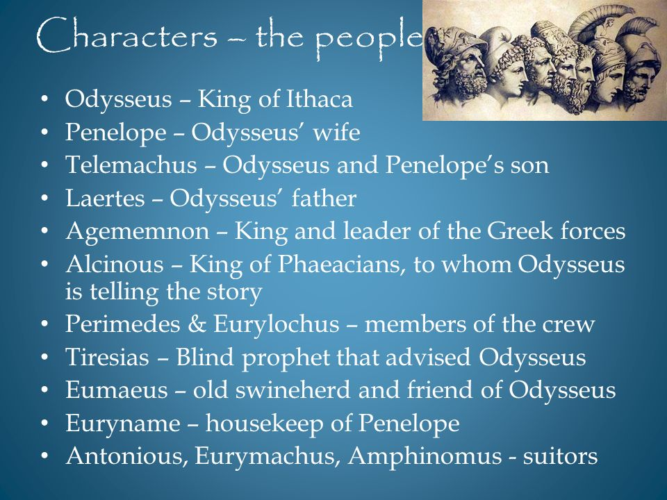 a character analysis of odysseus the hero of homers epic the odyssey Get an answer for 'what are 3 examples of times when odysseus demonstrated epic hero/god //wwwenotescom/topics/odyssey/characters of homer's the odyssey.