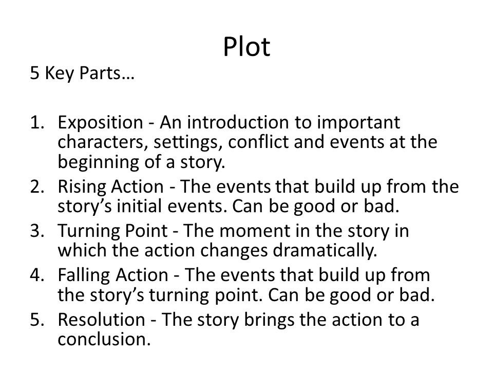 introduction to literature plot character Lit 2000: introduction to literature: writing about fiction: ebooks with   character overview, critical essay, work overview, biography, plot.