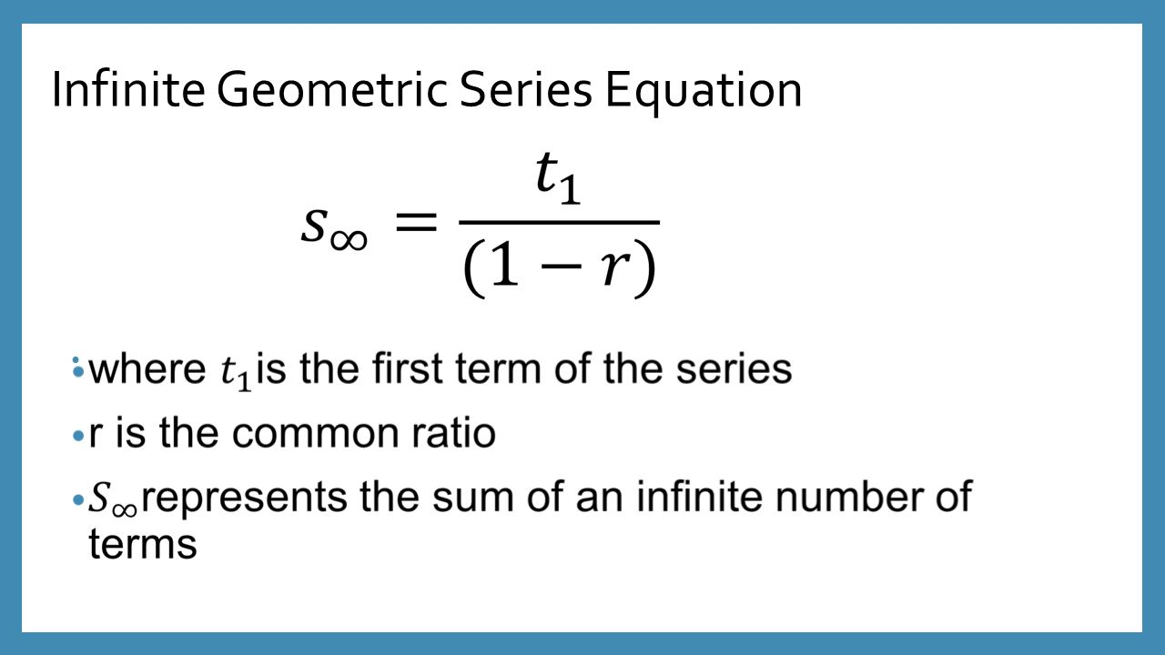 an overview of the infinite series in mathematics Tour start here for a quick overview of the site mathematics stack exchange is a question and answer site for people studying math at any level and professionals in related fields book on infinite series.