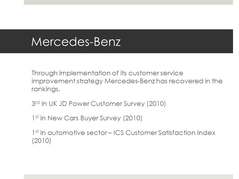 Mercedes benz customer satisfaction survey auto cars for Mercedes benz customer support