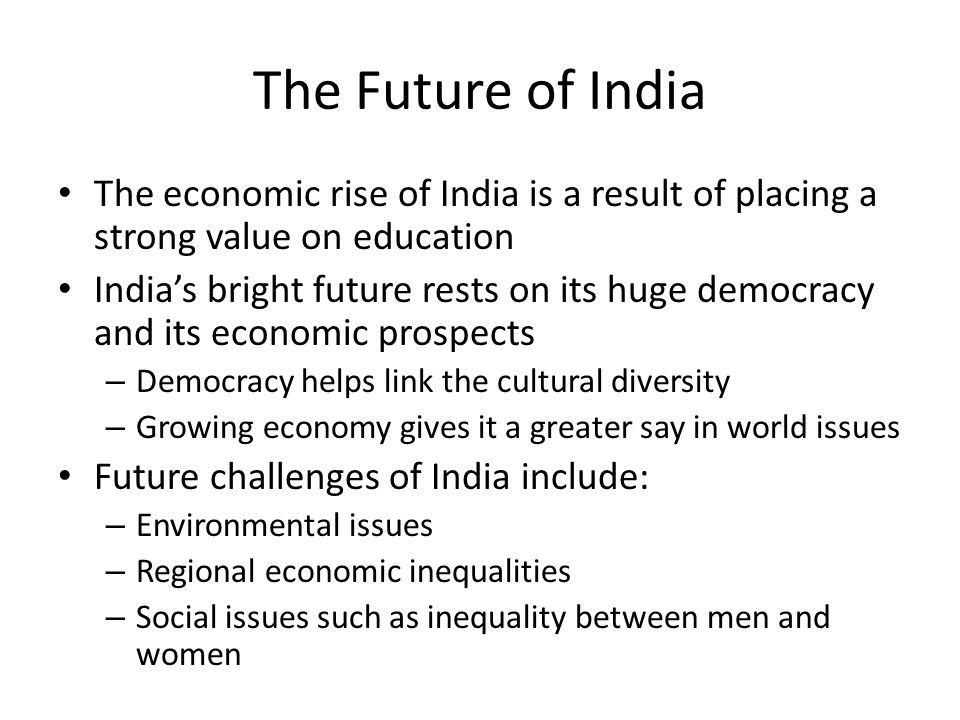 Indias rise in economics and the challenges it faces
