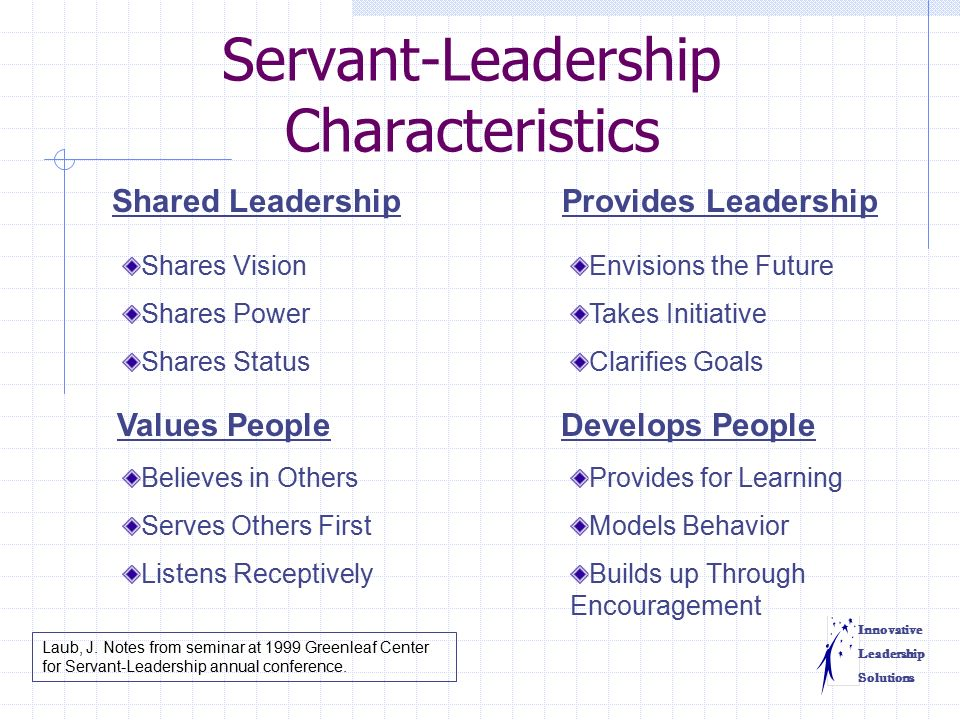 servant leadership and personal values essay Check out leading to liberate: servant leadership in business via  servant leadership in business an essay by  these are core values of servant leadership.