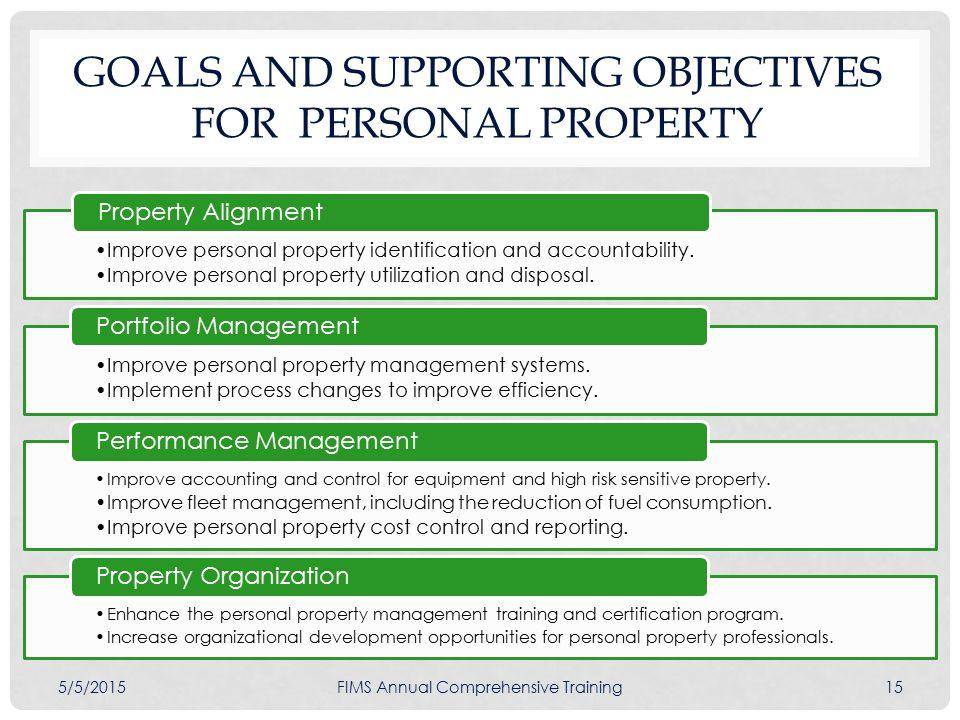 Personal Property Development : Doe asset management plan ppt download
