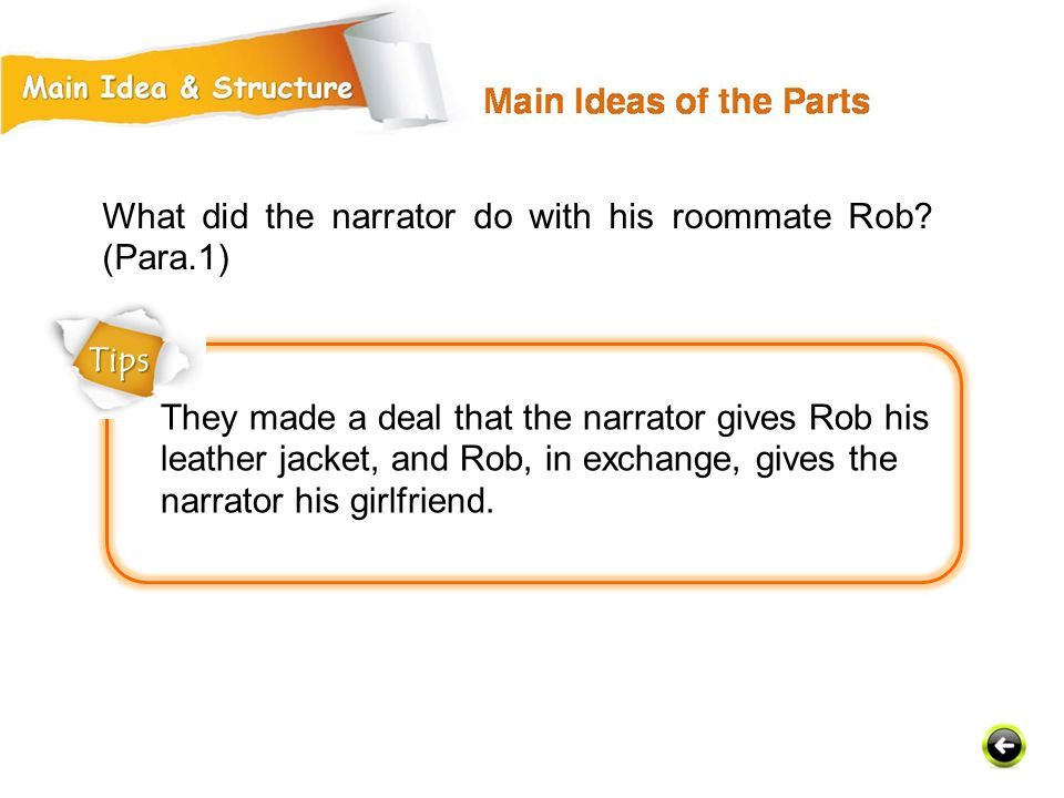 What did the narrator do with his roommate Rob (Para.1)