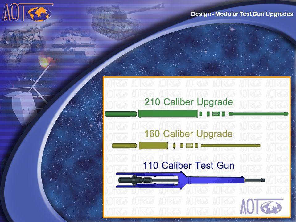 Design - Modular Test Gun Upgrades