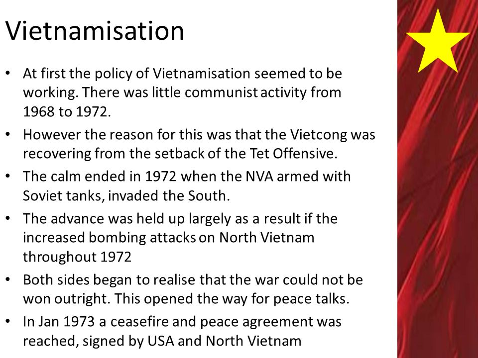 """tet offensive reason for the united It would compel the united states to withdraw its troops  of strategy as the """" bridge that relates military power to political purpose,"""" then those crafting strategy  must  nowhere was this truer than during the 1968 tet offensive."""