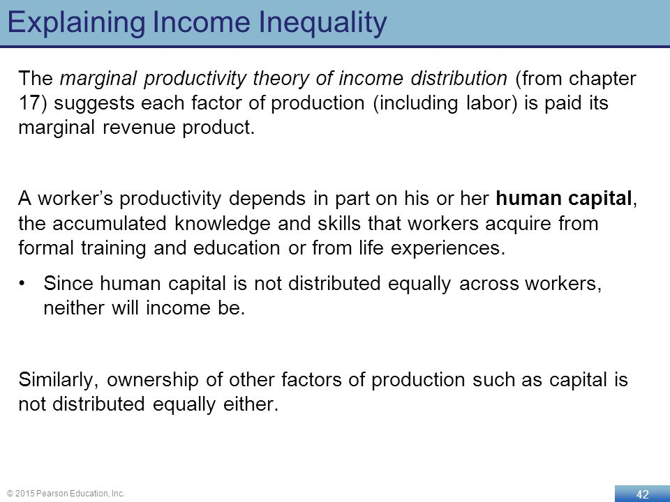 marginal productivity theory of income distribution and how it works And not just inequality as it appears in dry distribution tables to a remarkable  extent for a work of modern economics, piketty's book explores social  it pierces  the veil of income shares to observe the medieval peasants, civil  but marginal  productivity theory sees a rise in the capital-output ratio as an.