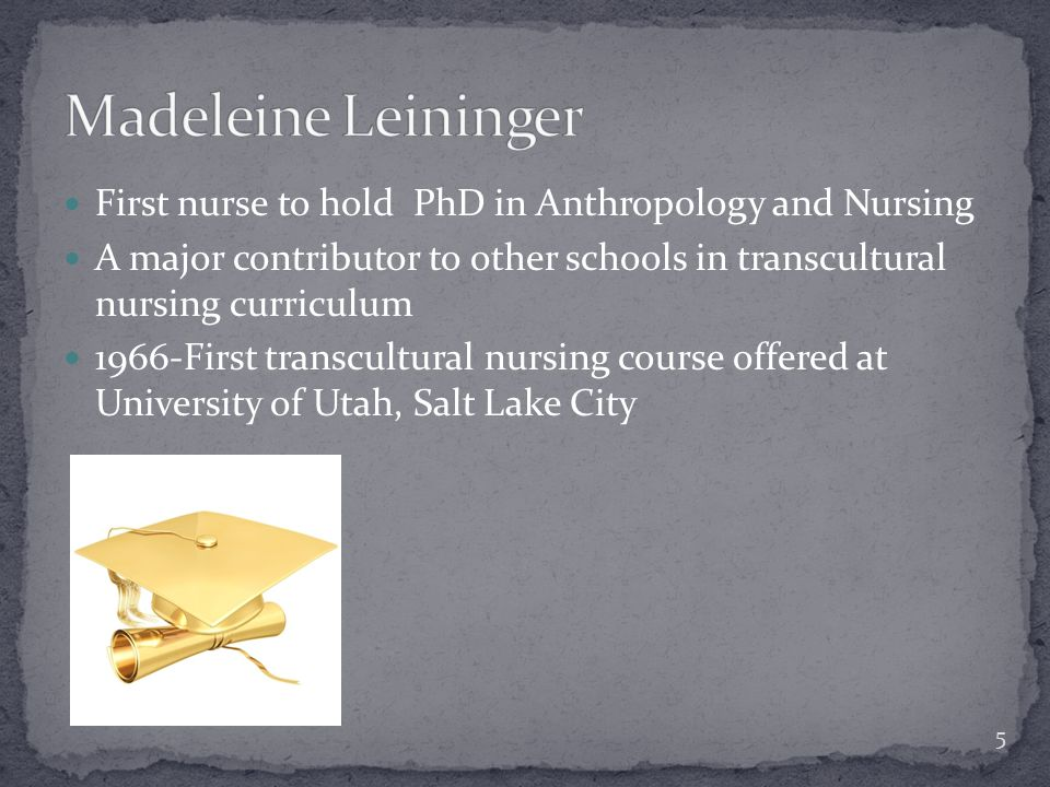 madeleine leininger theory of transcultural nursing Critique of madeleine leininger's transcultural nursing theory introduction this  paper is an analysis and critique of a published nursing philosophy and theory.